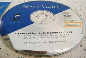 Le Monde Est Beau : cd promo monotitre d 39 herv vilard la vie est belle le ~ Melissatoandfro.com Idées de Décoration