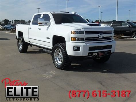 Pre Owned 2017 Chevrolet Silverado 2500HD High Country