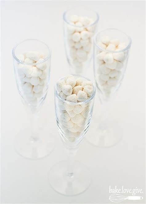 champagne bubble candy