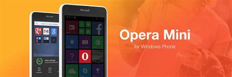 opera mini se actualiza para windows phone incluyendo navegaci 243 n privada entre otras novedades
