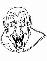 Vampires Coloring Children sketch template