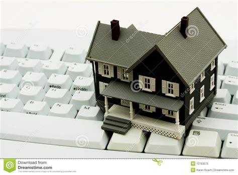 Real Estate Buy Online Stock Illustration Cartoondealer