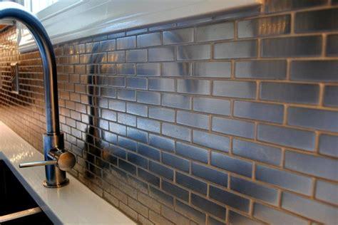 meta steel ceramic mini subway tile backsplash