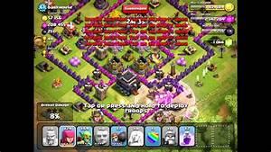 Clash of Clans [Offense] P.E.K.K.A/Barbarian King/Healer v ...