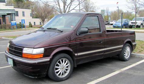 Dodge Caravan 'fargo' Pickup
