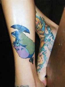 Tattoos inspired by ghibli movies