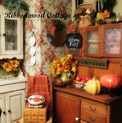 beautiful  cozy fall kitchen decor ideas family