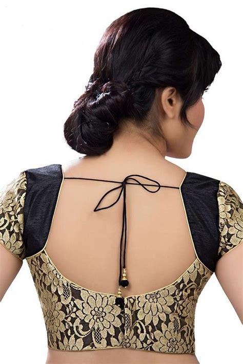 latest beautiful brocade blouse pattern designs saree