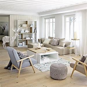 meubles deco dinterieur contemporain maisons du With attractive couleur tendance deco salon 7 meubles en rotin pour un salon naturel et contemporain