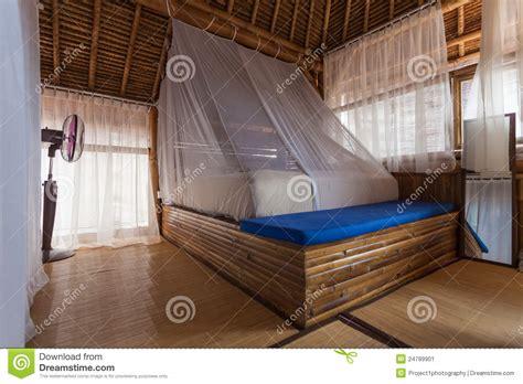 chambre en bambou chambre à coucher en bambou image stock image 24789901