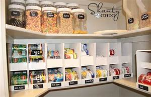 How to make pantry storage organizer diy crafts for Pantry can storage diy