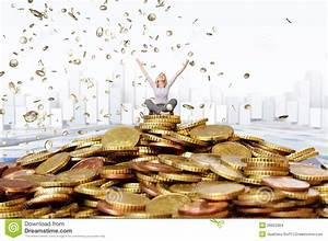 Happy Rich Woman Stock Images - Image: 26652364