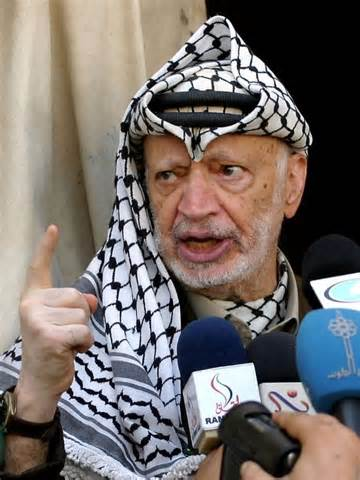 palestinian leader yasser arafat abc news australian
