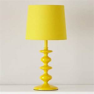 checkmate yellow table lamp base With clarity table lamp yellow
