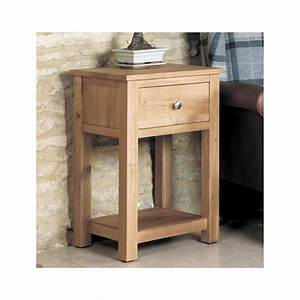 Mobel Solid Oak Living Room Furniture Small Side End Lamp