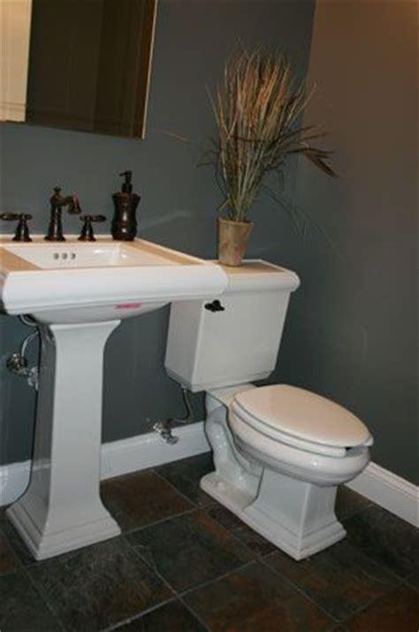 love   bath slate floor bathroom remodel