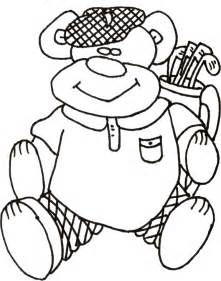 Free Printable Golf Coloring Pages