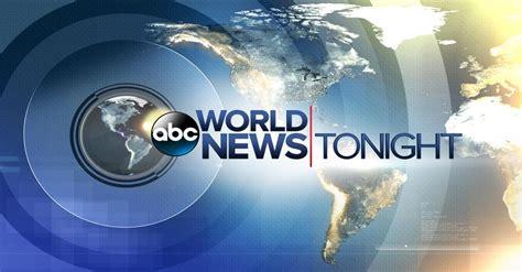 Watch World News Tonight Weekend TV Show - ABC.com