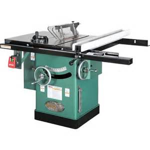 10 quot 3 hp 240v cabinet left tilting table saw grizzly industrial