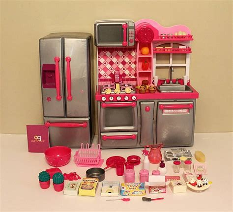 our generation kitchen set our generation kitchen set complete with accessories euc