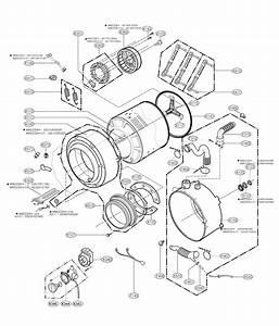 Lg Wm2233hw  01 Washer Parts