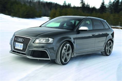 New Audi Rs3 Sportback Drifts Its Way On The Snow