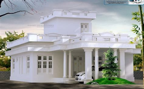 sq ft single floor traditional white home design home interiors