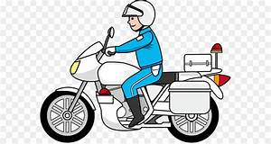 Car Police motorcycle Police officer Clip art - Space ...
