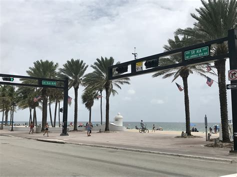 Trying To Get From Las Olas To The Beach? You'll Have To ...