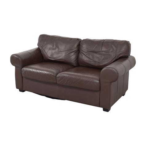 Ikea Loveseat Leather by 72 Ikea Ikea Timsfors Leather Brown Loveseat Sofas