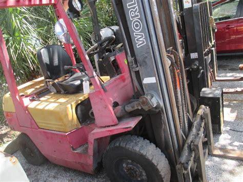 world lift wfd lb diesel forklift