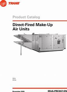 Trane Indirect Fired Makeup Air Unit