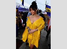 Rihanna in Hellessy for Rihanna Drive Ceremony Haus of