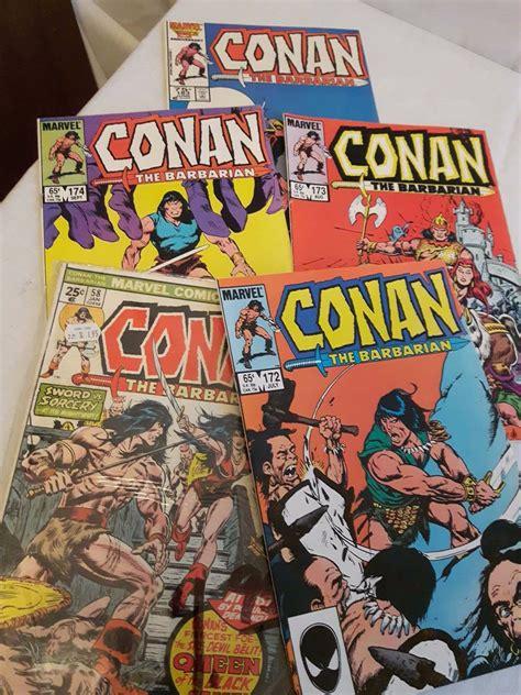conan  barbarian comics