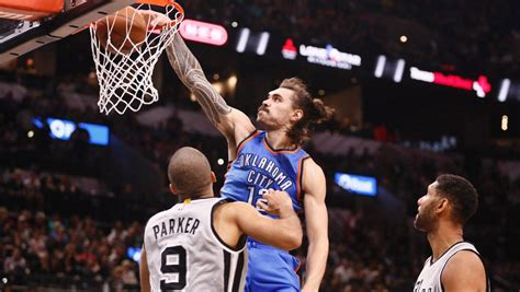 Steven Adams has quiet performance as Oklahoma City ...