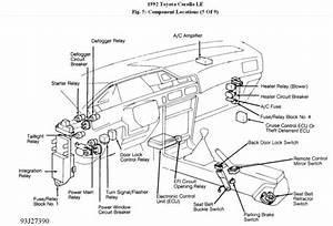 Toyota Corolla Brake Light Fuse