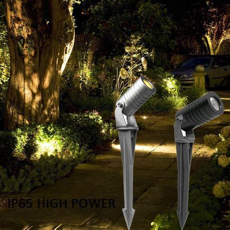 high power led garden spot light  spike