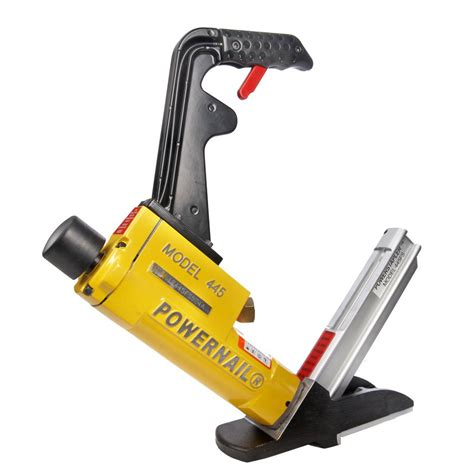 Hardwood Floor Nailer Home Depot by Freeman 3 In 1 Flooring Air Nailer And Stapler Pfl618br