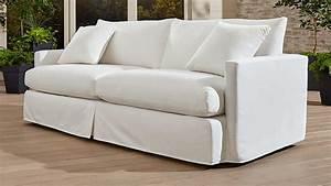 Lounge Sofa Outdoor : white outdoor sofa white outdoor wicker sofa thesofa ~ Frokenaadalensverden.com Haus und Dekorationen