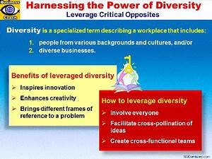 Diversity, Leveraging Diversity. MANAGING AND HARNESSING ...