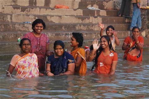 Marathi River Bathing Women Without Dress