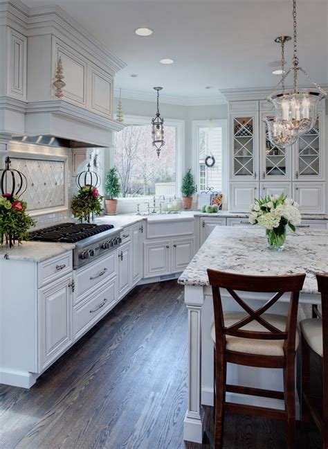 dallas white granite kitchen traditional  integrated