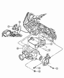 2004 Chrysler Pacifica Front Engine Diagrams