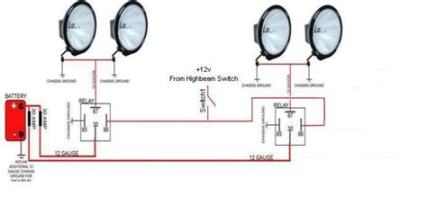 how to wire road lights jeep