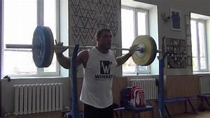 Dmitry Klokov Alternating Front To Back Snatch Grip Overhead Press