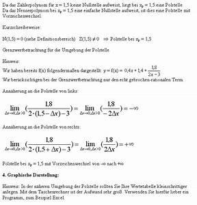 Differenzial Rechnung : kurvendiskussion ~ Themetempest.com Abrechnung