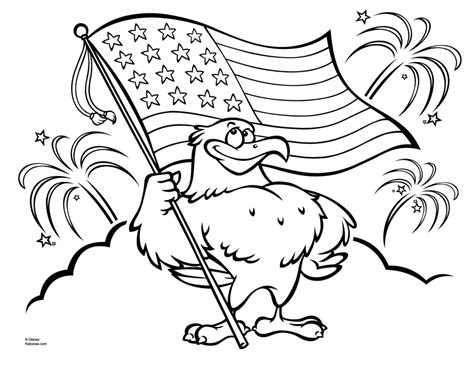 Patriotic Symbols Coloring Pages Eskayalitim