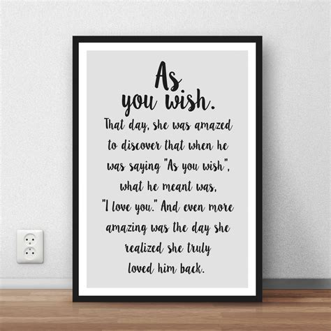 princess bride quote    great wall art poster