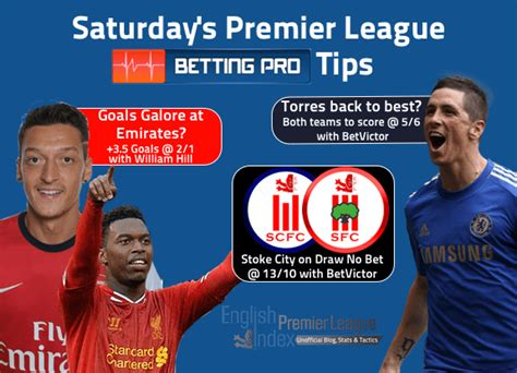 Premier League Round 10 Betting Tips | Arsenal V Liverpool ...