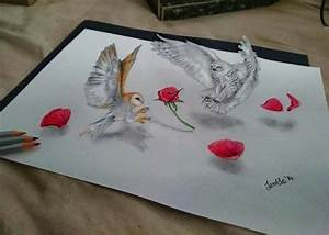Iantha, Naicker, Creates, Beautiful, 3d, Drawings